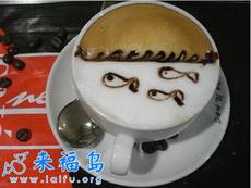 让人舍不得喝的咖啡艺术品(五)