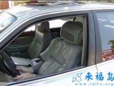 这么强悍的伪装不怕被罚无人驾驶吗!