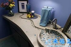 这样的洗手池看起来很有创意啊!