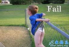 不要随便翻越栏杆
