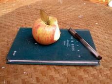 我的苹果笔记本!高科技产品!