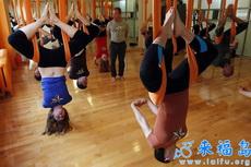 国外都是这么练瑜伽的