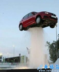 创意喷泉汽车