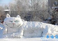 好大好邪恶的一只雪猫