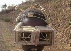 非洲人自制的眼镜