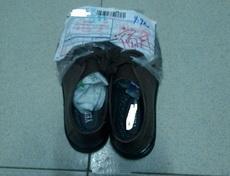 哈哈哈,看到有人評論說雙十一9.9元秒到的鞋子連個包裝都沒有