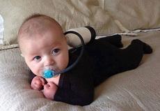 寶寶的潛水裝