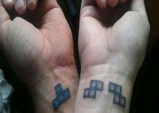 情侶紋身!