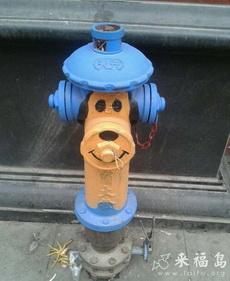 這消防栓太萌了,好有愛