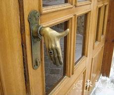 有創意的門把手