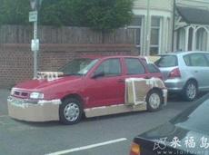 哪有這樣改裝車的啊