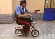警察的搞笑配车