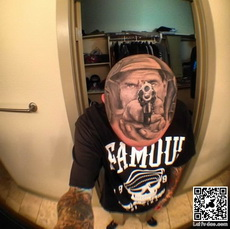 Headshot Tattoo