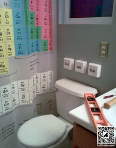 化学爱好者的厕所