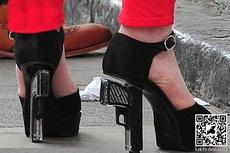 穿这样的高跟鞋那才叫霸气十足