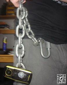 这样就不怕丢手机了!