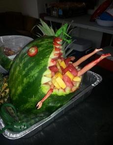 西瓜鲨鱼吃人啦