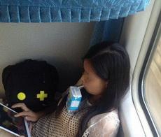 在火车上新学到的神技能!