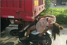 女司机就是霸气!
