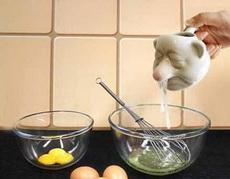 网上淘的蛋清蛋黄分离器,完全没有食欲了!