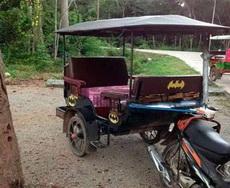 蝙蝠侠的新战车!