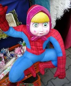 过年了,给儿子买个蜘蛛侠玩具!