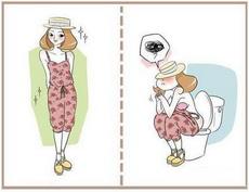 一图告诉你连体裙是怎么上厕所的