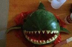吃个西瓜而已,要不要这么屌啊!