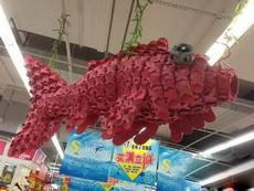 超市大妈真是创意达人!