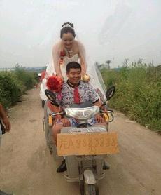 这婚车也太霸气了!