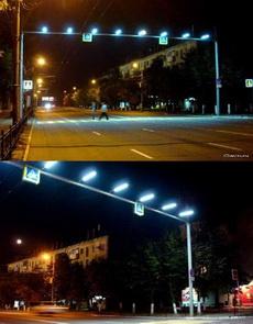 好貼心的斑馬線路燈!