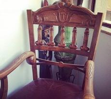 好奇怪的椅子啊