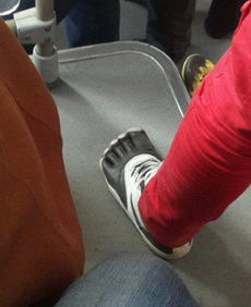 鞋子就要按着自己风格穿