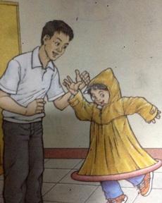 這雨衣有點怪怪的
