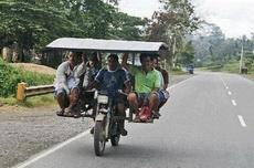 谁说摩托车只能坐两个人