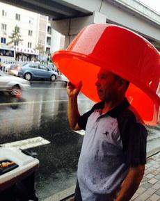 下雨了,这也是个招啊。