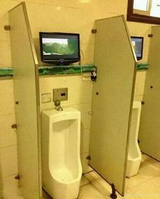 这厕所高大上啊