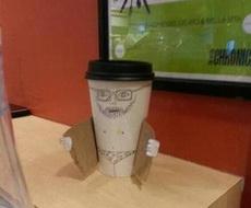 这年头咖啡都开始耍流氓了
