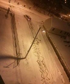 下雪天开车真心不容易