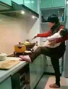 谁家的媳妇,真的能干