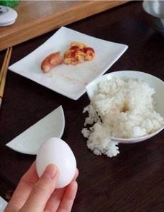 只是想敲个蛋吃