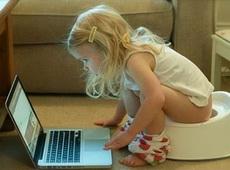 一看就是个爱学习的孩子!