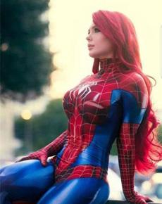 好凶的蜘蛛侠