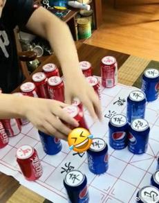 可口可樂和百事可樂下棋