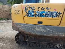 这是一辆有故事的挖机