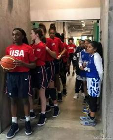美国篮球队vs萨尔瓦多篮球队