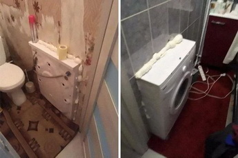 鬼才怎么安装洗衣机的