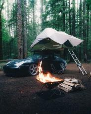 难道是为了帐篷里暖和一点