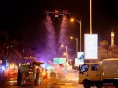 迪拜街头是怎么消毒的