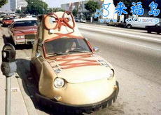 汽车与鞋的创意3